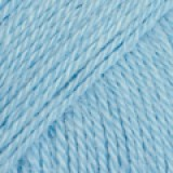 ALPACA UNI COLOUR 6205 light blue