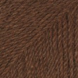 ALPACA UNI COLOUR 601 dark brown