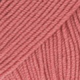 BABY MERINO UNI COLOUR 46 rose