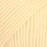 BABY MERINO UNI COLOUR 03 light yellow