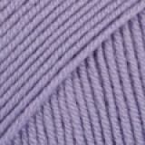 BABY MERINO UNI COLOUR 14 purple