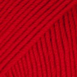 BABY MERINO UNI COLOUR 16 red