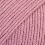 BABY MERINO UNI COLOUR 27 old pink