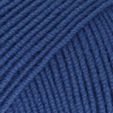 BABY MERINO UNI COLOUR 33 electric blue
