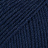 BABY MERINO UNI COLOUR 13 navy blue