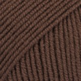 BABY MERINO UNI COLOUR 18 brown