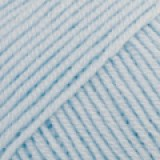 BABY MERINO UNI COLOUR 24 light sky blue